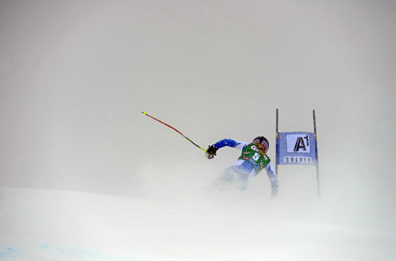 Tessa Worley - Sölden 2012 - © Alain Grosclaude/AGENCE ZOOM