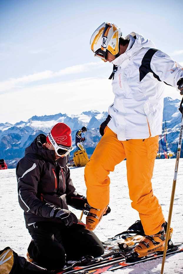 Taille, poids... votre morphologie est à prendre en compte lors du choix de vos skis - © stefcande.com