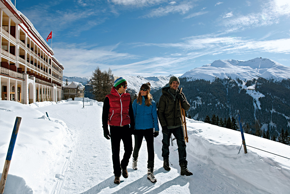 Winter Hiking in Davos - © Davos