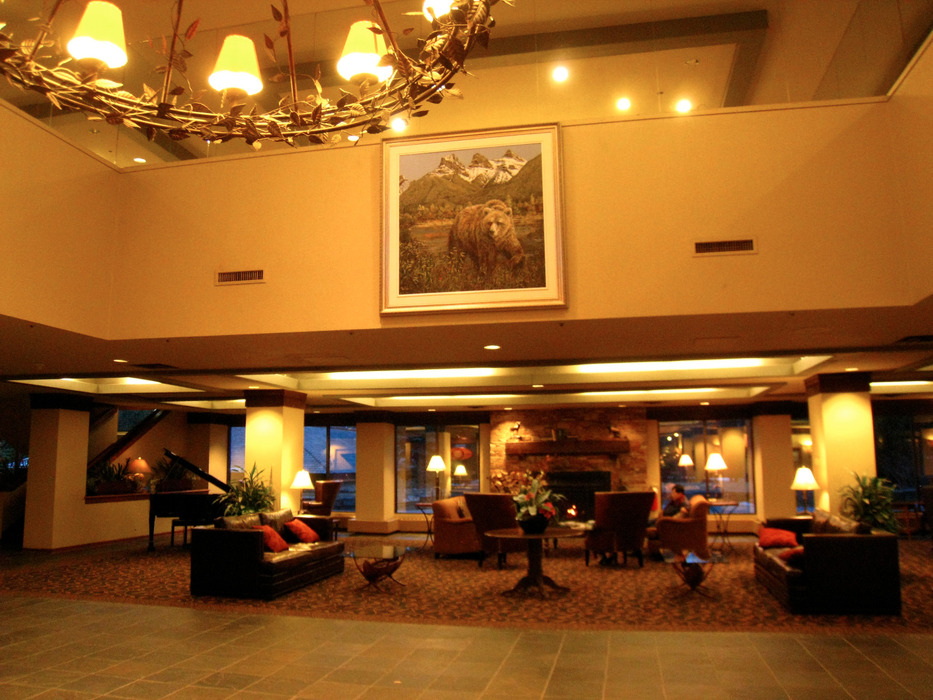 Delta Kananaskis Lodge at Nakiska. Photo by Becky Lomax. - © Becky Lomax