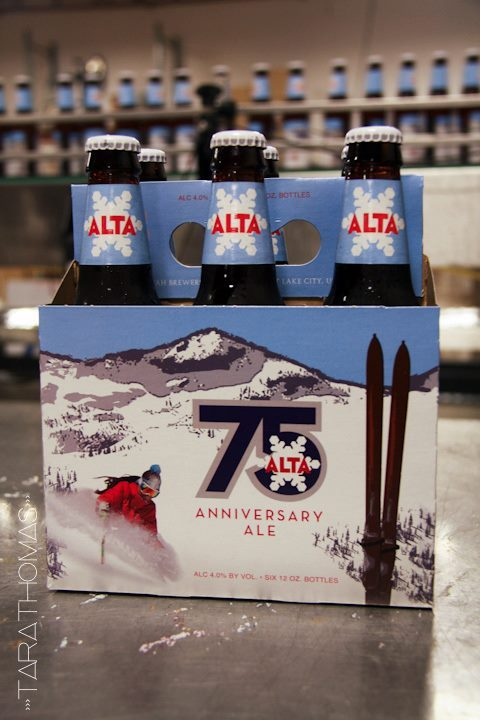 Alta celebrates its milestone jubilee with the 75th Anniversary Ale from Wasatch Beers - ©Courtesy of Tara Thomas