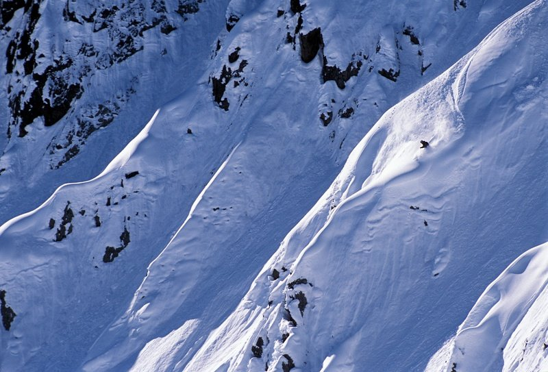 Stuben is the smallest ski area in the Arlberg, but also one of the best places for off pist skiing and filming when film crews visit. A few years back while filming for Poor Boyz Productions, Pep Fujas skied this face called Albonaska.