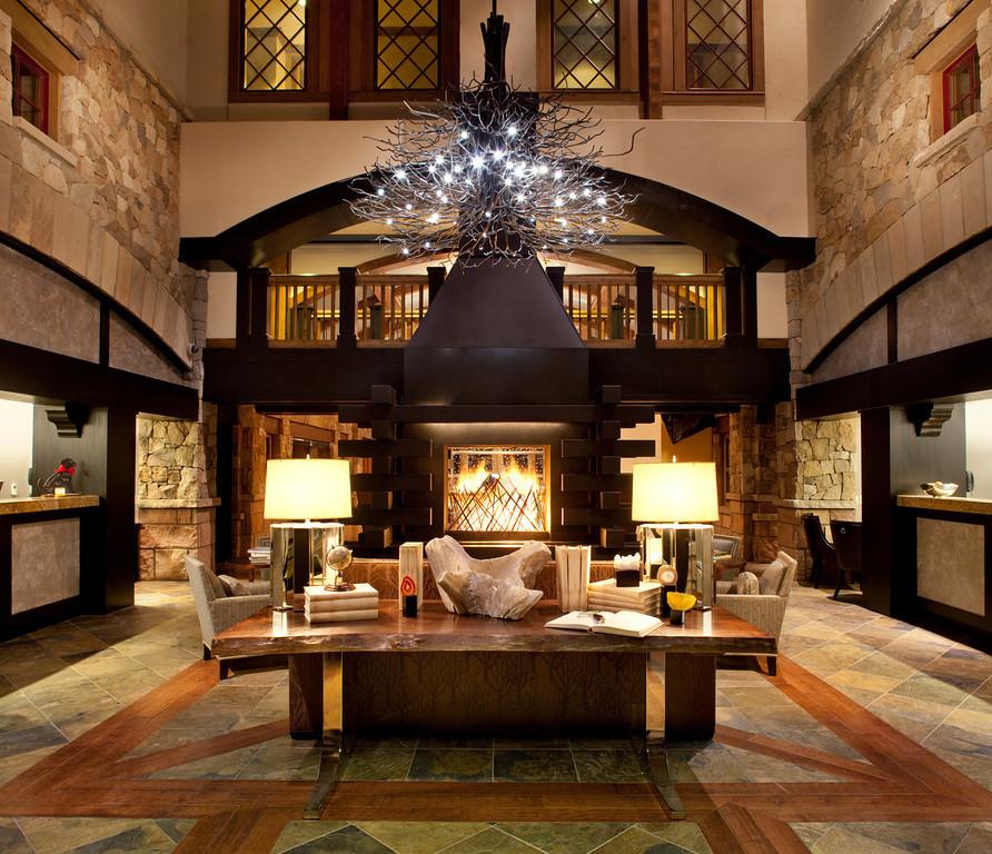 The lobby of The Sebastian Vail - © Sebastian Vail