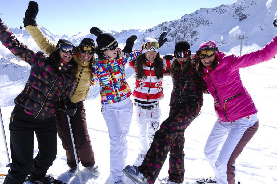 Cet hiver, on partage ses vacances au ski, aux Menuires, avec Co'lidays! - © P. Lebeau