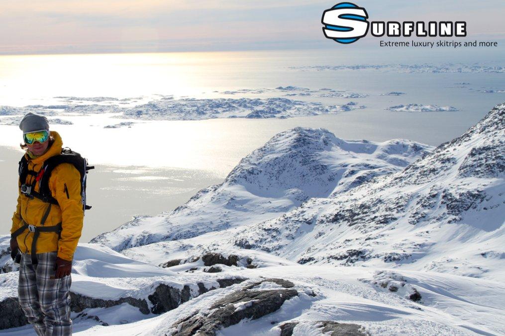 Arrangør Jeppe Hansen fra Surfline, Århus Surf og ski nyder udsigten - ©Jeppe Hansen, Surfline