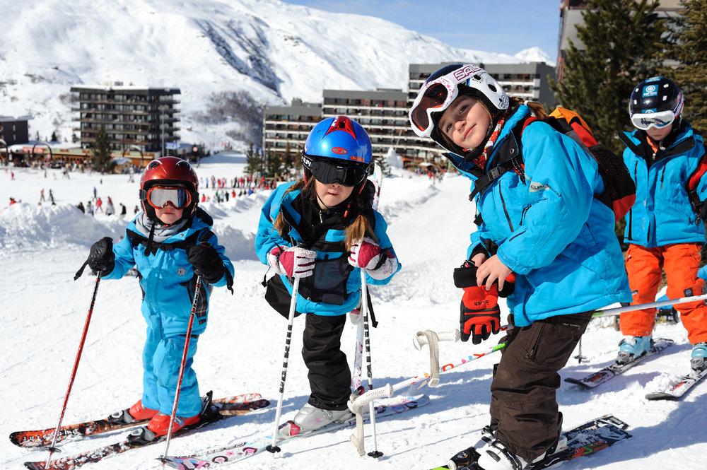 Der Kinder Skiclub in Les Menuires - © David Andre/Les Menuires