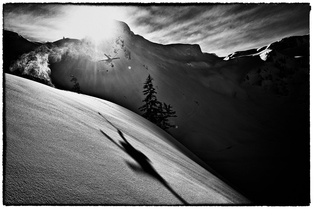 Mark Abma skiing at Mt. Baker - © Grant Gunderson