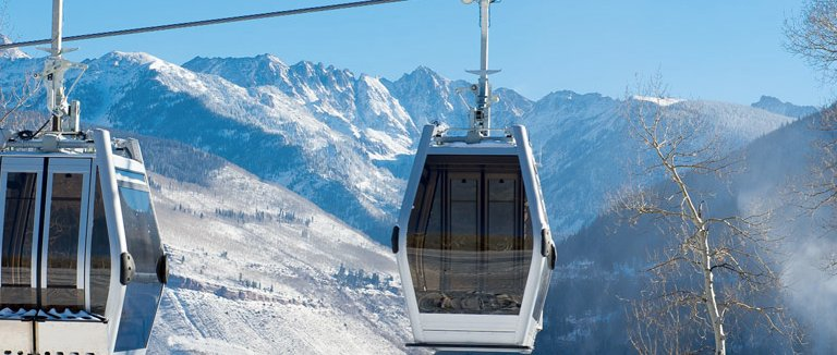 "The new ""One"" Gondola at Vail. - © Vail Mountain"