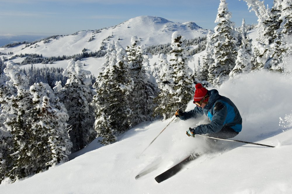 Sun Peaks Resort in BC: Skier. Photo by Adam Stein