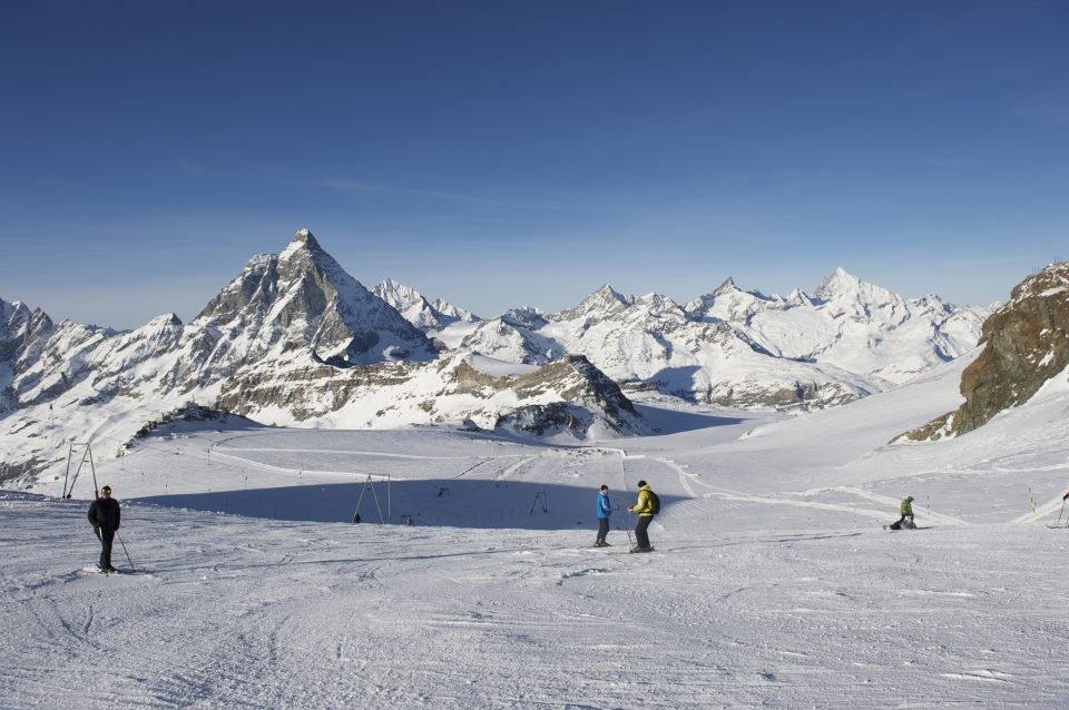 Gletsjerskiën in Zermatt - © Michael Portmann/Zermatt Tourismus