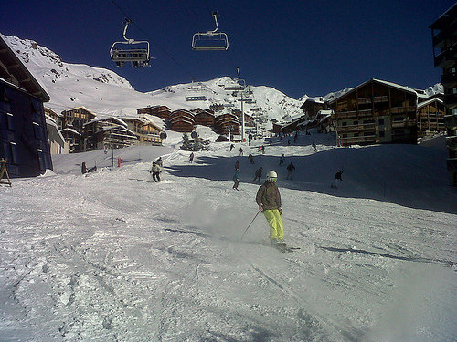 Plenty of ski-in/ski-out accommodation in Val Thorens, France - ©Val Thorens Tourism