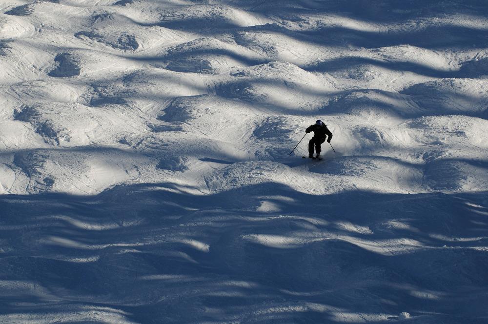 Buckelpiste im Skigebiet Telluride, Colorado - © Norbert Eisele-Hein