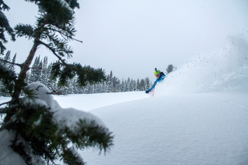 Powder at Jackson Hole. Photo by Julie Weinberger/Jackson Hole Mountain Resort. - ©Julie Weinberger