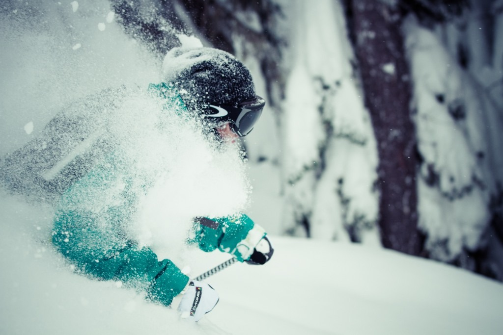 Chris Shalbot deep in Stevens Pass - © Liam Doran