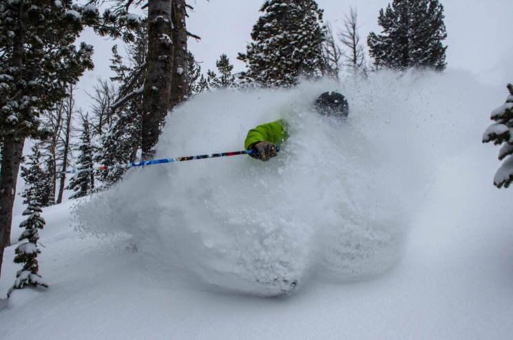 Jackson Hole saw blower powder this weekend. Photo courtesy of Jackson Hole Mountain Resort. - © Jackson Hole Mountain Resort
