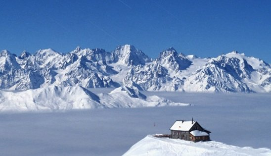 Cabane Mont Fort, Verbier.  - ©Club alpin suisse