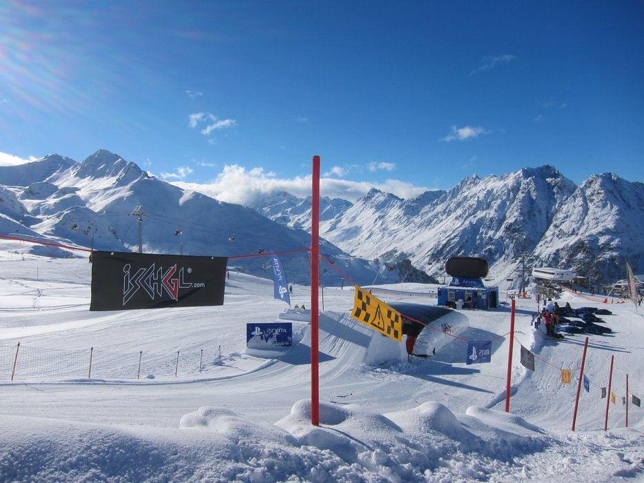 Snowpark at Ischgl - © Monica Adorno