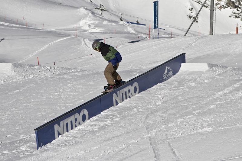 Snow Park Elements - © stefandrexl.com / Overview Gletscherbahnen Kaprun AG /Kitzsteinhorn