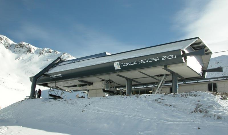 Brembo Ski, seggiovia Carisole - Conca Nevosa di Carona - © Brembo Ski