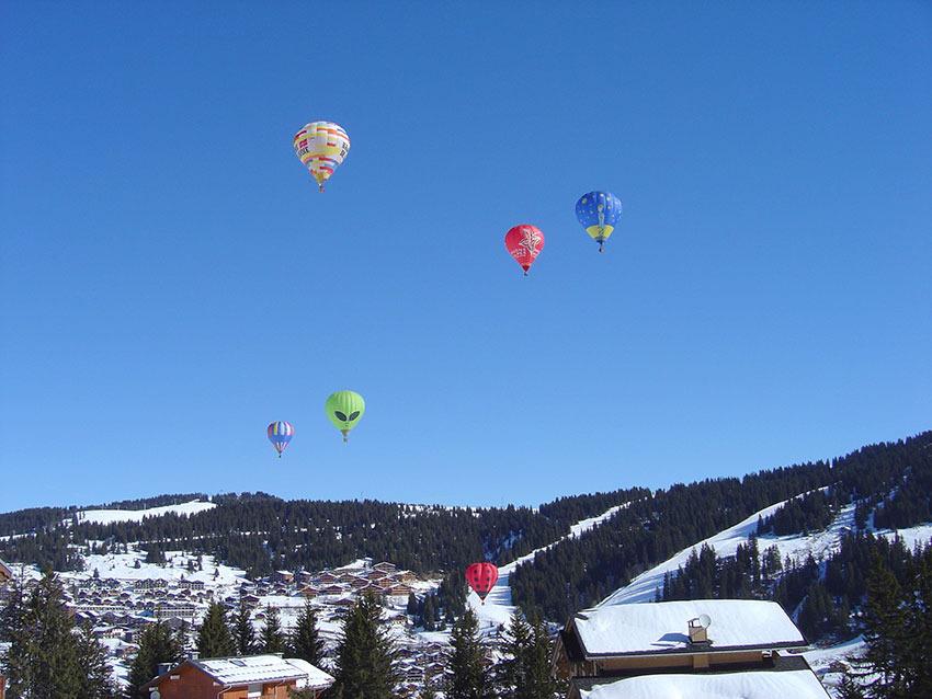 Vol en montgolfière - © Savoie Mont-Blanc / Chabance