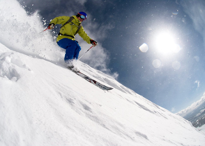 Big Sky boasts the Biggest Skiing in America. - ©Bob Allen