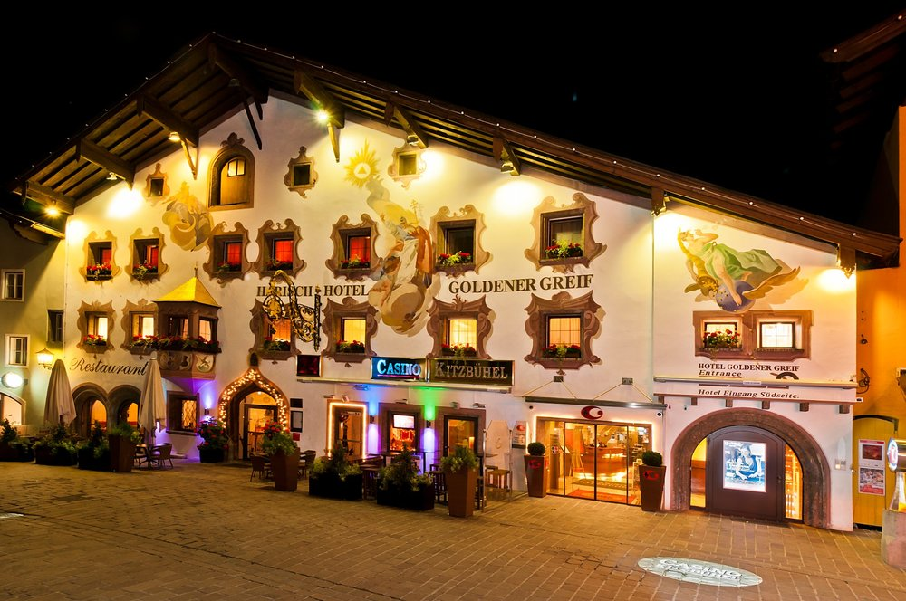 Casino Kitzbuehel in the traditional 13th-century Goldener Greif Hotel - © Casinos Austria