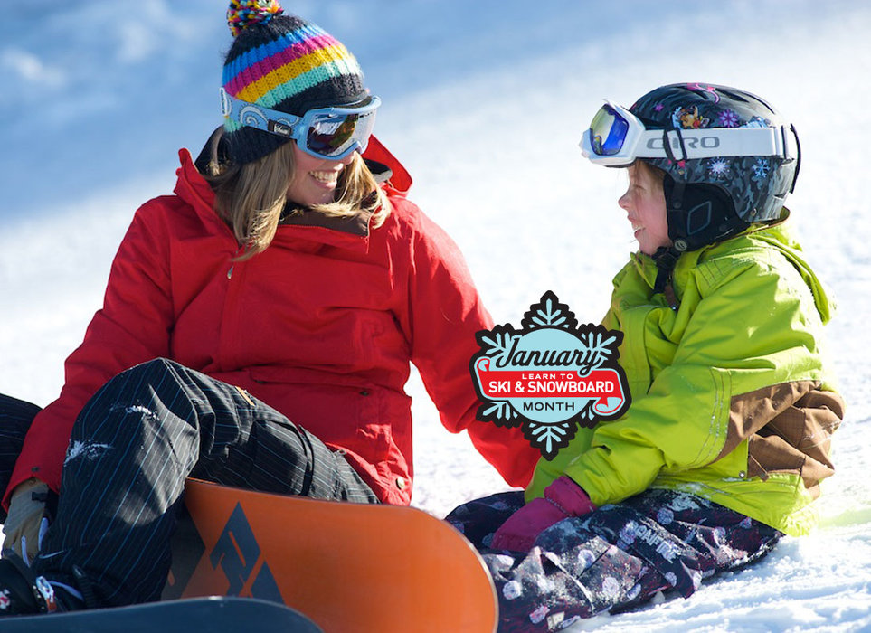 """January is """"Learn to Ski & Snowboard Month"""" nationwide. - © Photo Courtesy of Ski Vermont"""