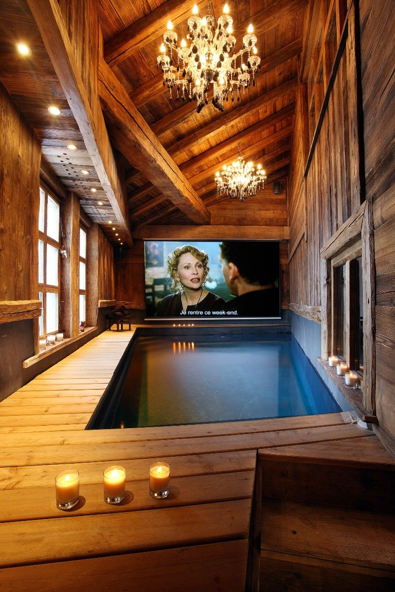 Pool at Chalet Lhotse, Val d'Isere - ©Consensio