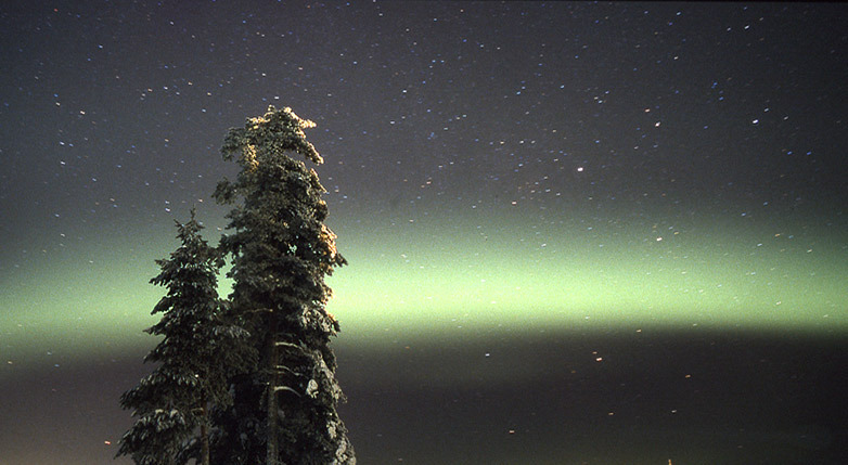 Northern Lights in Lapland - © Ruka