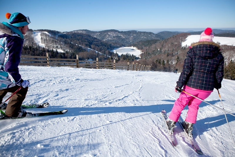 Ski à la Bresse Hohneck - © Billiotte / OT de la Bresse Hohneck