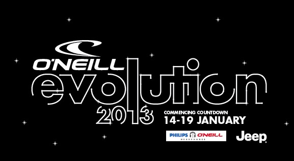 2013 Evolution Logo - ©O'Neill Evolution 2013