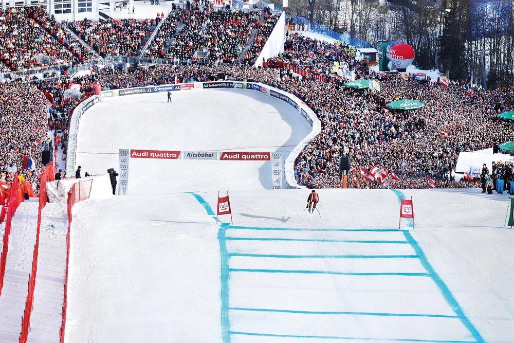 Hahnenkamm-Rennen in Kitzbühel - © Medialounge