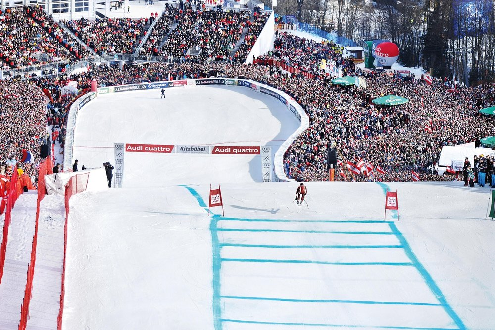 Hahnenkamm race at Kitzbühel - © Medialounge