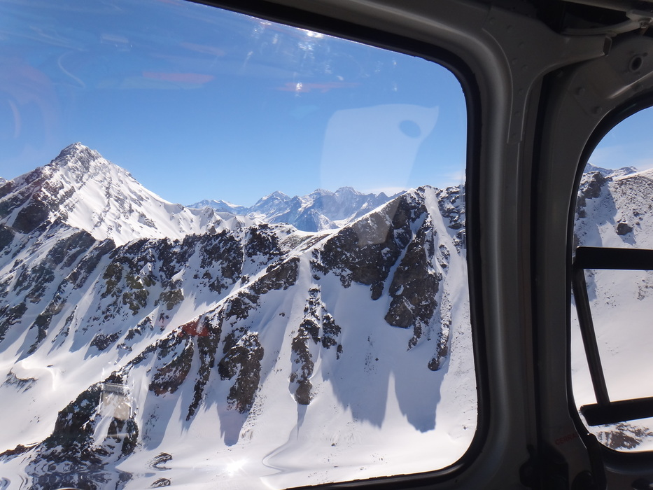 View form the chopper in Valle Nevado. - © Valle Nevado