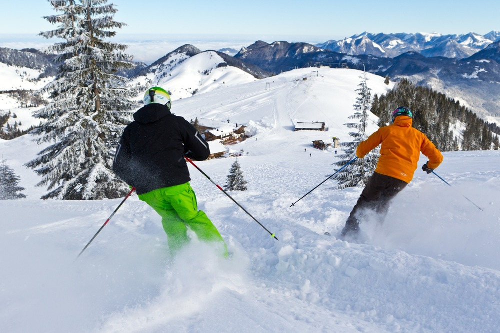 Good snow conditions in Sudelfeld - © Tourist-Info Bayrischzell