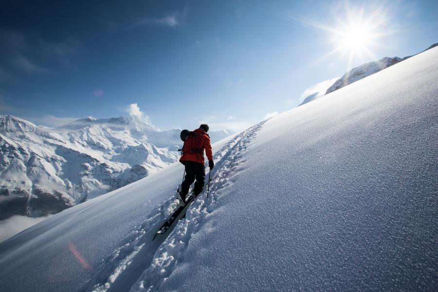 Infinite ski touring area - © OT Sierre-Anniviers