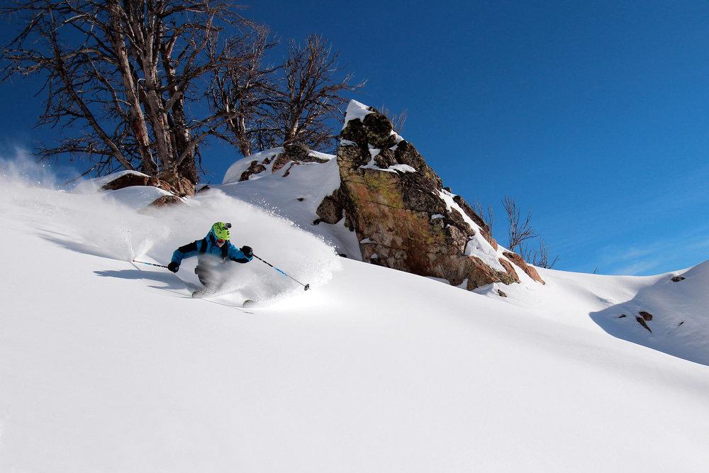 Jackson Hole has seen powder conditions this winter. Photo courtesy of Jackson Hole Mountain Resort. - ©Jackson Hole Mountain Resort