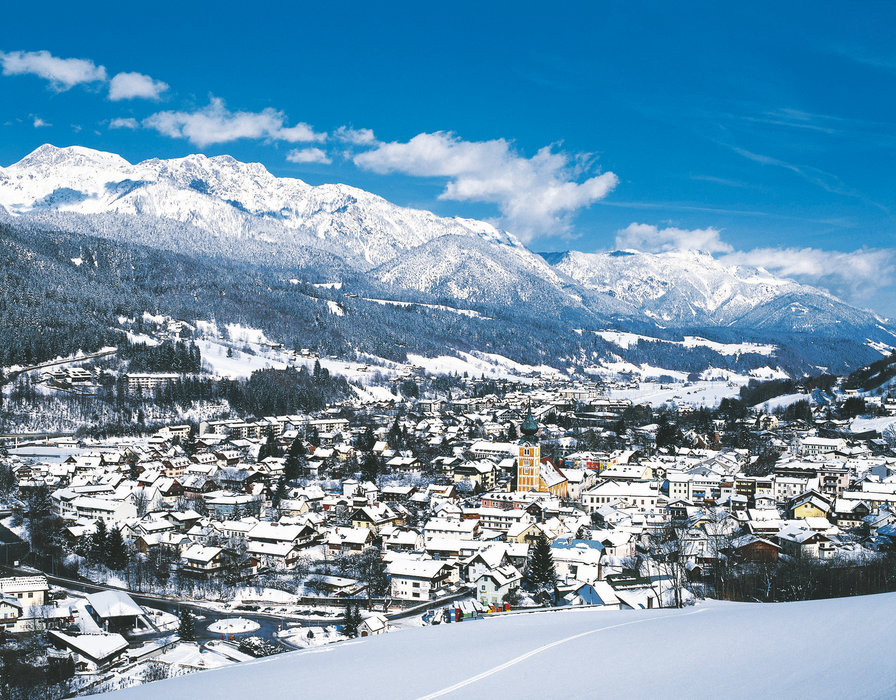 Schladming from the slopes, Austria - ©Schladming Tourism
