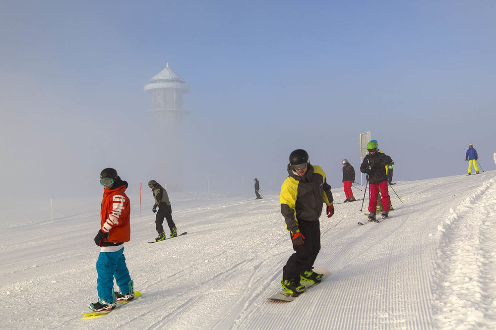 Good snow conditions at Feldberg in January - © Achim Mende