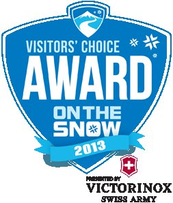 2013 Visitors' Choice Awards Presented By Victorinox Swiss Army.