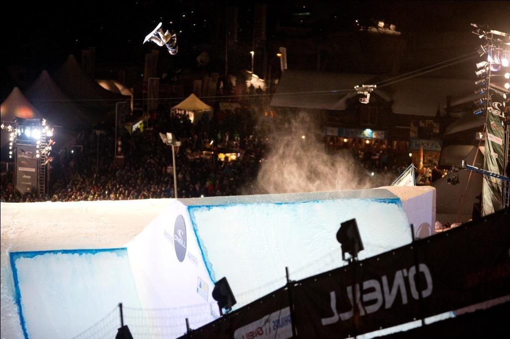 O´Neill Evolution 2013: Big Air Finale der Männer - © 2013 Evolution Men Finals
