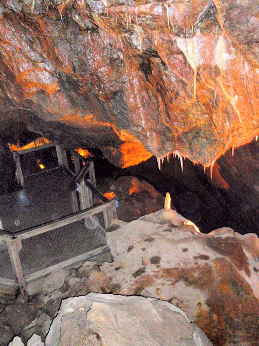 There are 16,000 feet of caverns and tunnels at the Fairy Caves - © Shannon Lukens