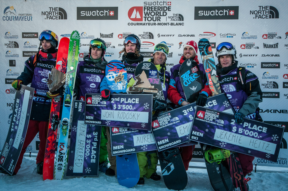 Freeride World Tour 2013 - Courmayeur - © Freerideworldtour.com/ D. Carlier