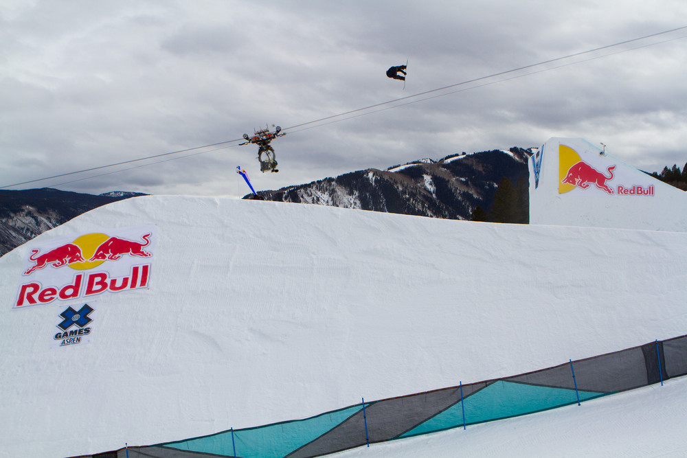 Mark McMorris sending it. - © ESPN