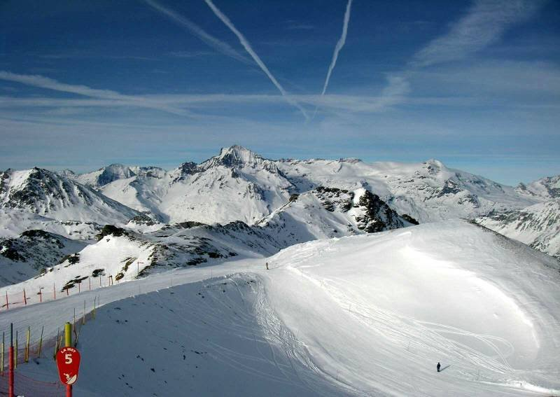 Panorama from Val Cenis ski area - ©© B.Laisney / Haute Maurienne Vanoise