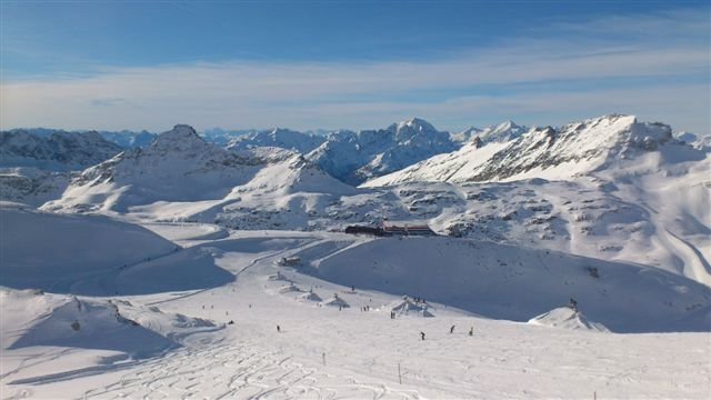 Powder at Moelltaler Glacier