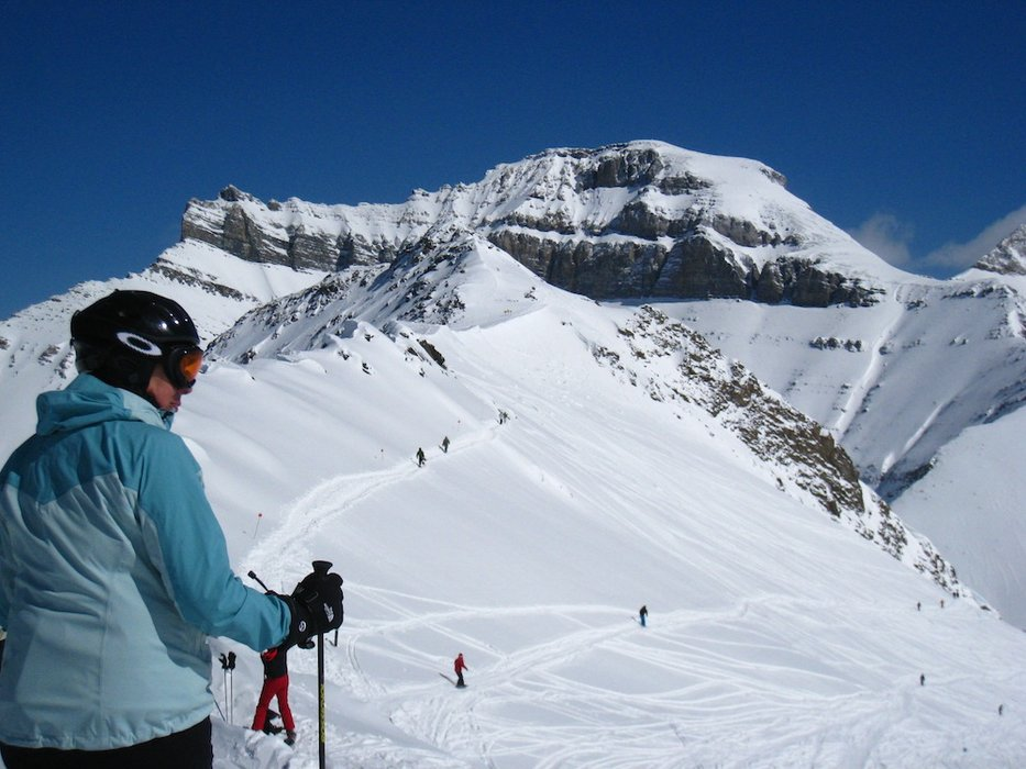 Lake Louise Ski Area - © Becky Lomax