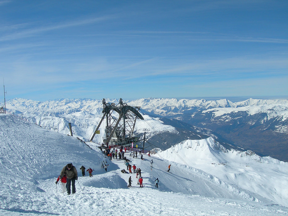Top of the Aguille Rouge (3,226m) in Les Arcs - ©Les Arcs Tourist Office