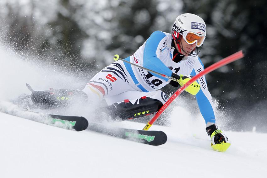 Fritz Dopfer schon sich als Siebter in die erste Slalom-Startgruppe vor - © Alexis Boichard/AGENCE ZOOM