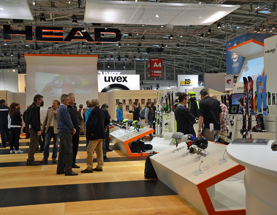 Head's new stand at ISPO 2013 - ©Skiinfo